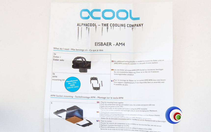 AlphaCool Eisbaer 240 Black