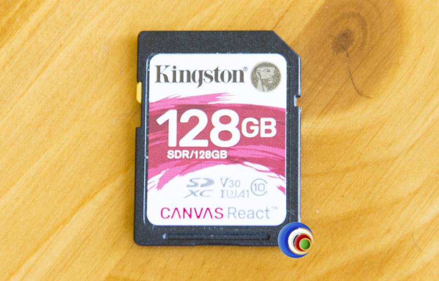 Kingston CANVAS React 128GB